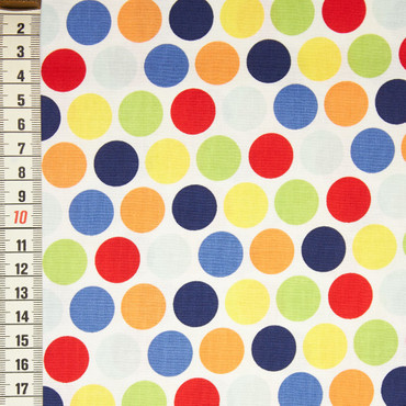 Riley Blake Pieces Of Hope 2 Colourful Dots – Bild 1