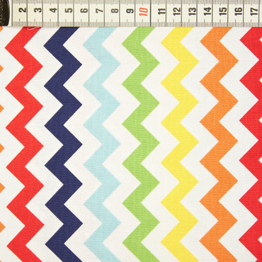 Riley Blake Cotton Chevron bunt – Bild 1