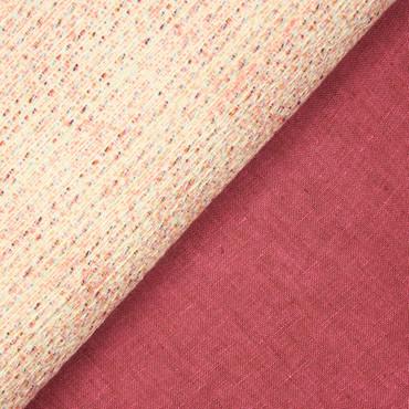 Hilco Sommer-Tweed Ballena Sol rosa – Bild 3
