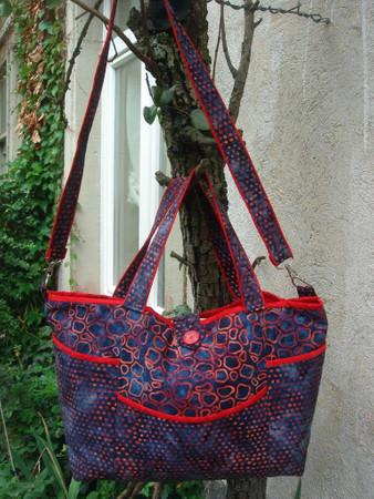 Schnittmusterschablone Plastik Trace'n Create Bag Florida Tote 6 Styles – Bild 2