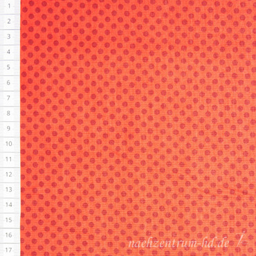 Makower Novelty Christmas Polka Dot rot – Bild 1