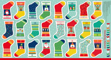 Makower Novelty Mini Socken Adventskalender