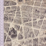 Windham Fabrics Destination Paris Stadtplan antik