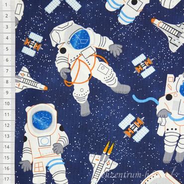 Timeless Treasures Space Astronauten im Weltall – Bild 1