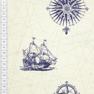 Dekostoff Carta Nautica