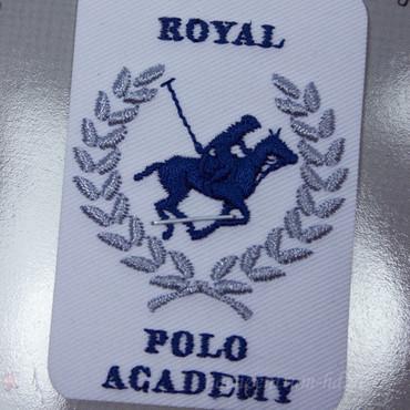 Royal Polo Academy Abzeichen Applikation, aufbügelbar – Bild 2