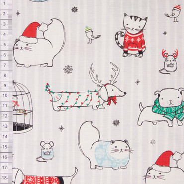 Mingle & Jingle Haustiere grau – Bild 1