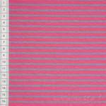 Streifen Jersey pink grau 001