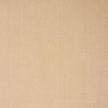 Baumwoll-Leinen Pique mit Stretch sand