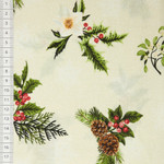 Winter Twist Holly & Snowflakes 001