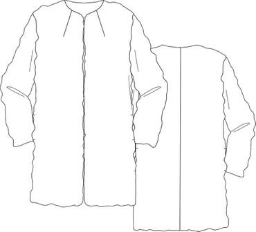 Mantel LARA (Gr. 34-50) – Bild 2