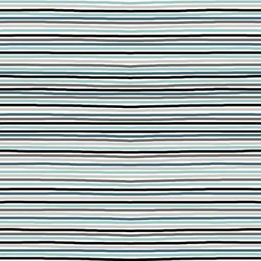 STOF Avalana Streifen grau aqua