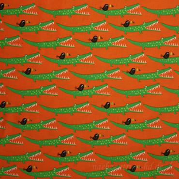 Around the World Krokodil und Tukan orange – Bild 2