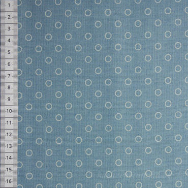 Makower Blue Sky Bubbles blau – Bild 1