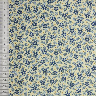 Makower Blue Sky Meadow blau creme