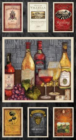 Vintage Wein Panel – Bild 1