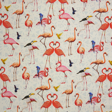 Pink Flamingo Exotic Bird Jersey – Bild 2