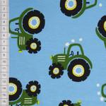 Traktor Jersey blau grün