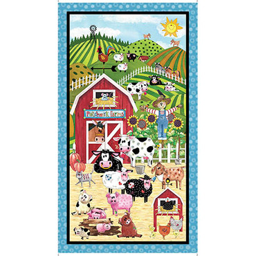 Patchwork Farms Bauernhof Panel