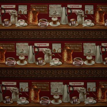 Common Grounds Kaffeeset Bordüre – Bild 1