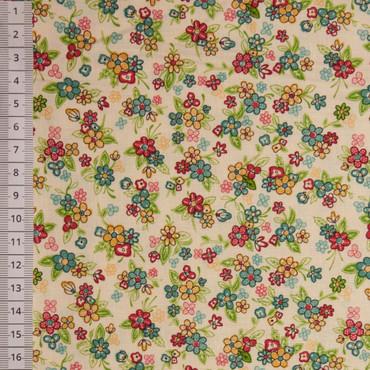 Makower Multi Floral creme  – Bild 1