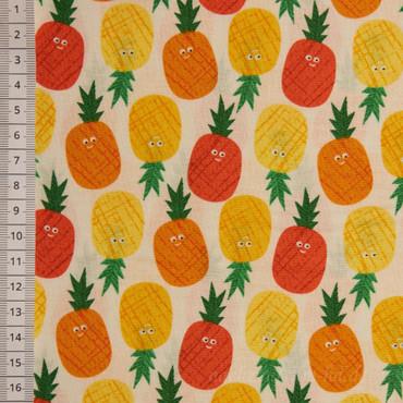 Makower Pineappels orange  – Bild 1