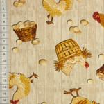 Chicken Toss Allover grau  001