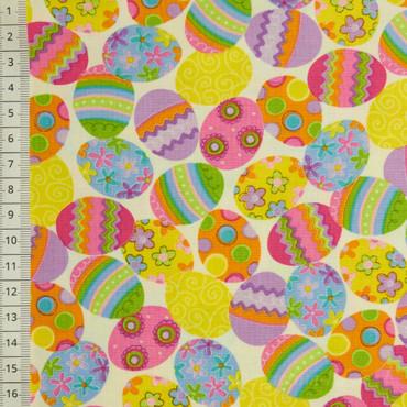 Decorative Eggs Allover weiß – Bild 1