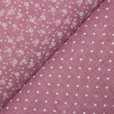 Whiteprint Punkte rosé – Bild 2