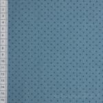 Bijoux Square Dot jeansblau 001