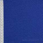 Feine Punkte Jersey blau-weiß