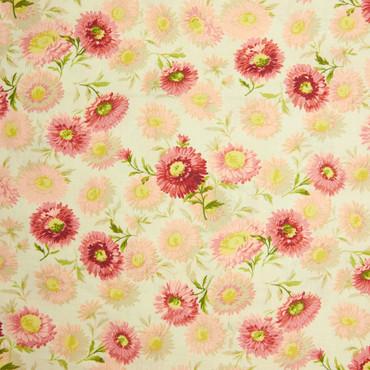 Makower Sequoia Daisies rosa – Bild 1