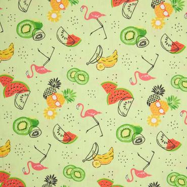 Baumwolle Anina Tropic pastellgrün – Bild 1