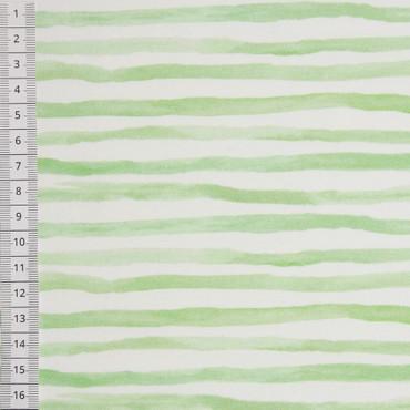 Swafing Jersey Funny Farm Streifen grün weiß
