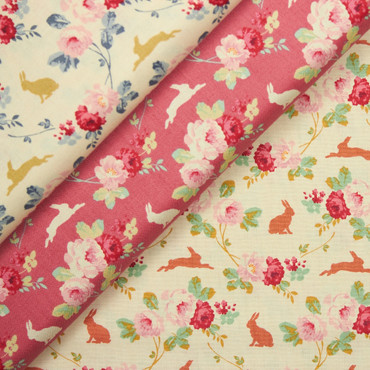 Tilda Rabbit & Roses creme – Bild 2