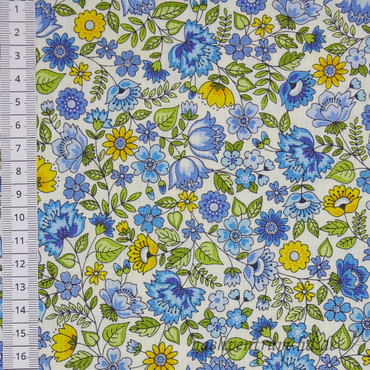 Makower Bloom Chintz blau – Bild 2