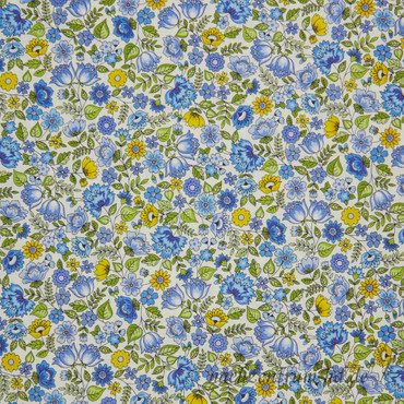 Makower Bloom Chintz blau – Bild 1