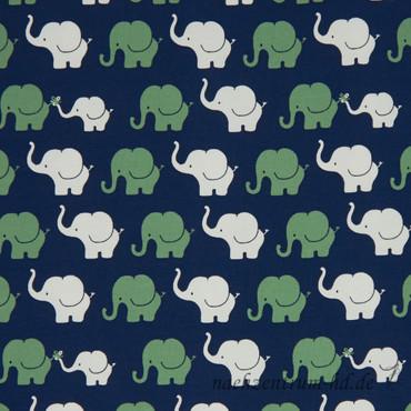 Elephant Parade blau-grün – Bild 1