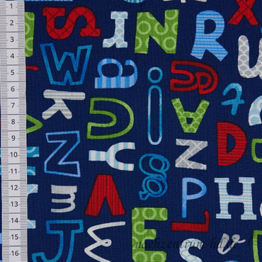 School Zone Alphabet von Studio E Fabrics – Bild 2