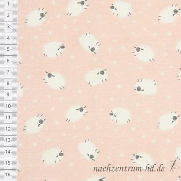 """""""Mini Winter"""" - Schäfchen auf rosa – Bild 2"""