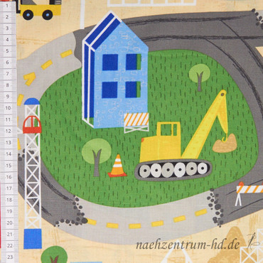 Wilmington Prints - Detour Ahead! - Spielstraße mit Baustelle – Bild 2