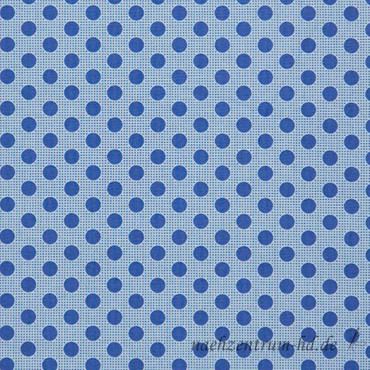 Tilda Quilt Collection - Medium Dots - Denim Blue – Bild 1