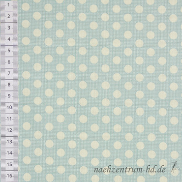 Tilda Quilt Collection - Medium Dots - Teal – Bild 2