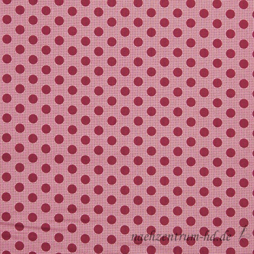 Tilda Quilt Collection - Medium Dots - Maroon – Bild 1