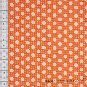 Tilda Quilt Collection - Medium Dots - Ginger – Bild 2