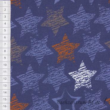 Sweat - Chalky stars denim - Sterne – Bild 2