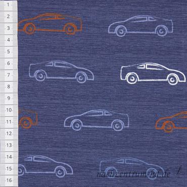 Sweat - Chalky cars denim - Autos – Bild 2