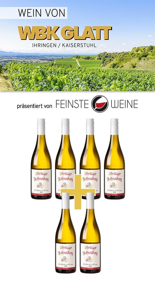2018 Weißwein trocken Ihringer Fohrenberg - WBK Glatt/Baden