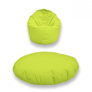 Berlinpillow Sitzsack 2in1 Pear Bag 200 Liter – Bild 10