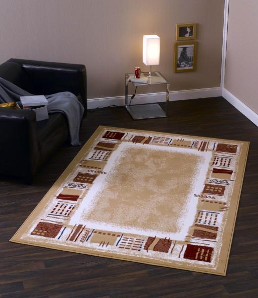kurzflor design teppich corona beige bord re 101765. Black Bedroom Furniture Sets. Home Design Ideas